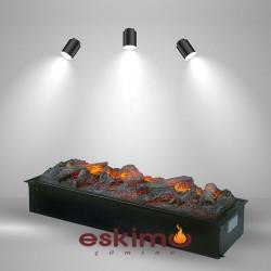 Ayflame L 3 Boyutlu Elektrikli Şömine