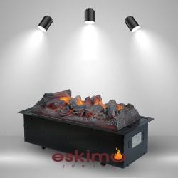 Ayflame M 3 Boyutlu Elektrikli Şömine