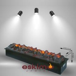 Ayflame XL 3 Boyutlu Elektrikli Şömine