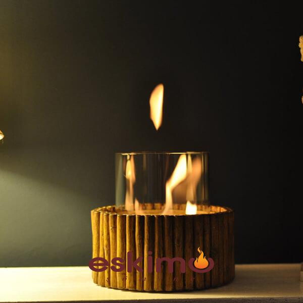Bamboo Masaüstü Şömine