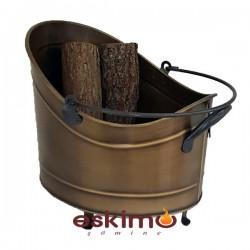 Odun Kovası Eskitme Odunluk