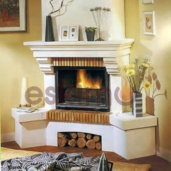 Köşe Klasik Şömine ETK-056