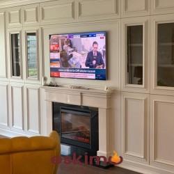 Tv Ünitesi Şömine ETE-053